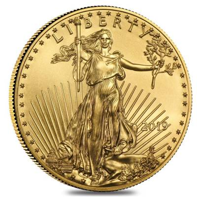 2019 1/4 oz Gold American Eagle $10 Coin BU