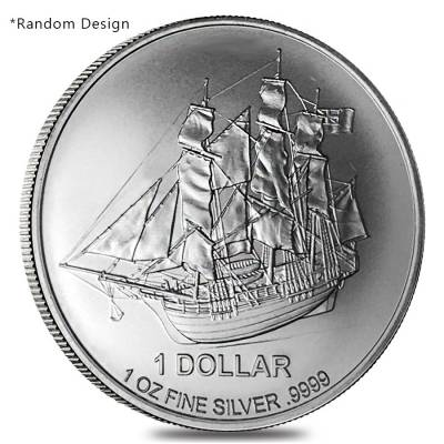 1 oz Silver World Coin Random Design BU/Proof