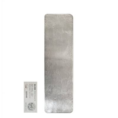 100 oz Nadir Refinery Silver Bar .9999 Fine (w/Assay)