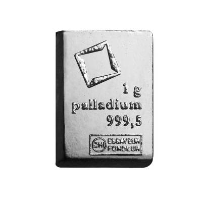 1 gram Generic Palladium Bar .999+ Fine (Secondary Market)