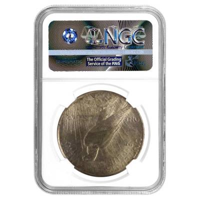 1926 Silver Peace Dollar NGC MS 63