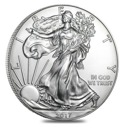 2017 (S) 1 oz Silver American Eagle $1 Coin NGC MS 69