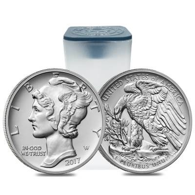 2017 1 oz Palladium American Eagle $25 Coin BU