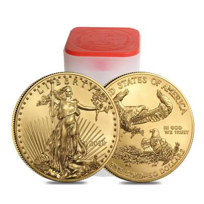 2018 1 oz Gold American Eagle $50 Coin BU