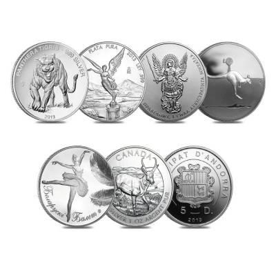 2013 Canada The Fabulous 15 World's Most Famous Silver 15-Coin Set (w/Box & COA)