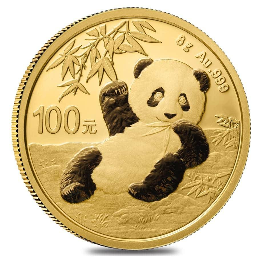 Gold Panda ~20 Direct Fit 18 mm Coin Capsule For Chinese 1//10 oz