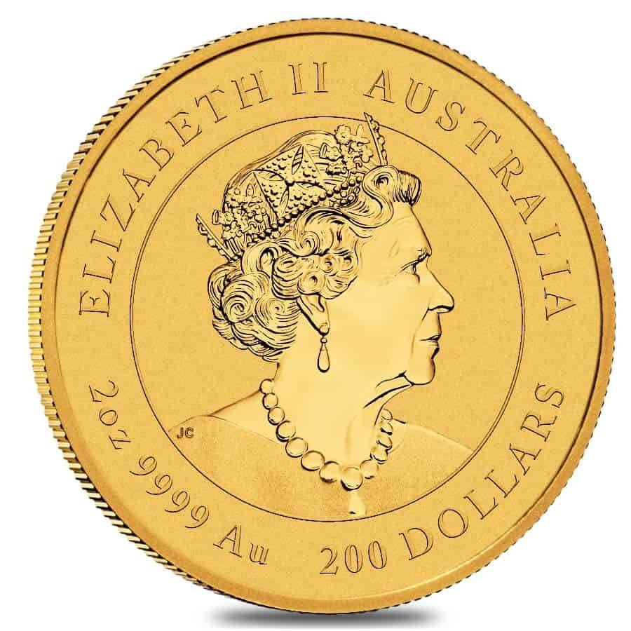 2021 2 oz Gold Lunar Year of The Ox Perth | Bullion Exchanges