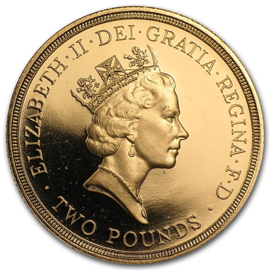1986 commonwealth 2 coin