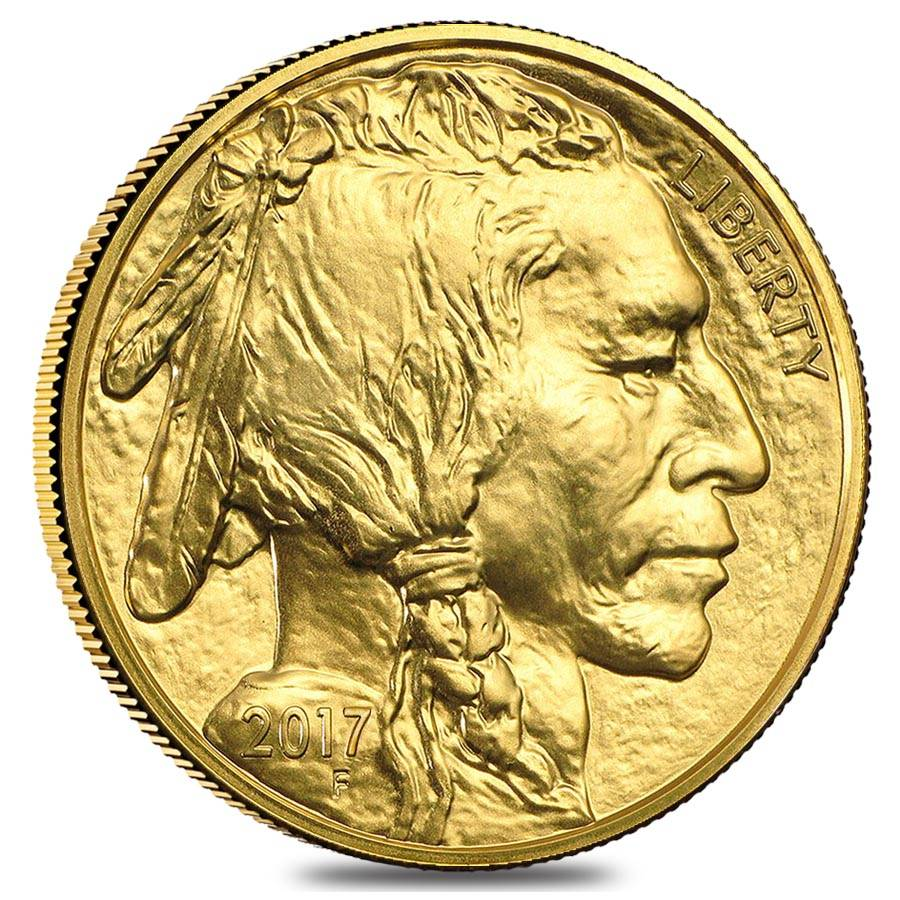 2017 1 Oz Gold American Buffalo 50 Coin Bu
