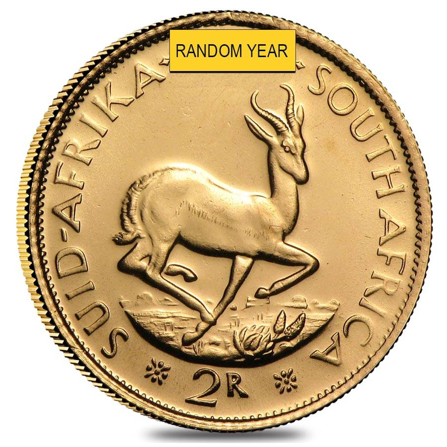 South africa 2 rand gold coin au random year buycottarizona