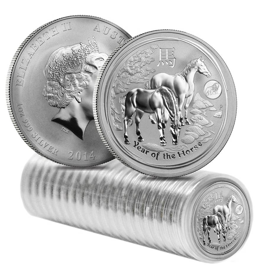 2017 Australia YEAR OF THE ROOSTER Lion Privy Silver $1 Coin 1oz Low Mint Lunar