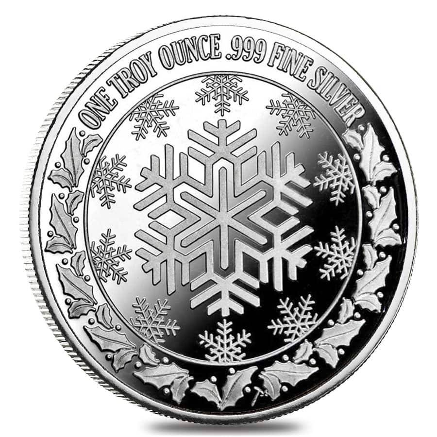 1 Oz Horse Amp Sleigh Silver Christmas Round Bullion Exchanges