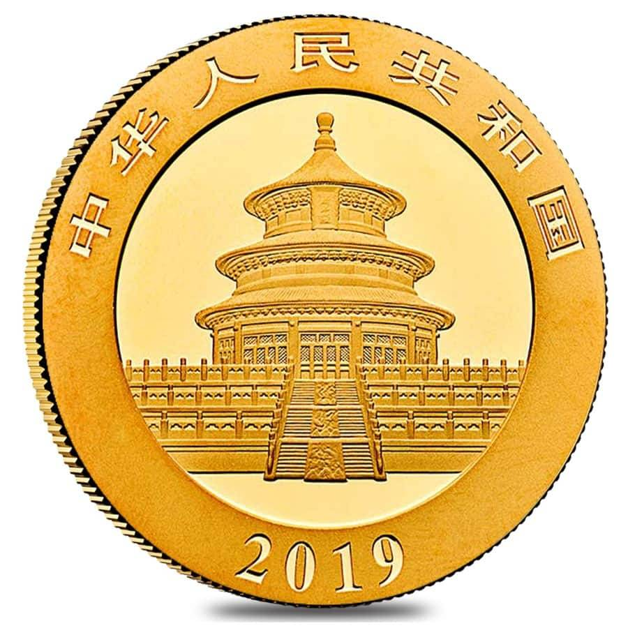 Gold Panda ~15 Direct Fit 18 mm Coin Capsule For Chinese 1//10 oz