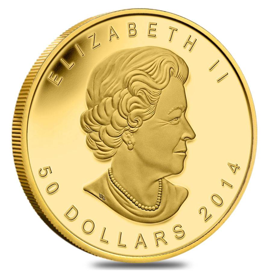 Five Blessings 2014 1 Oz Gold Canadian Coin