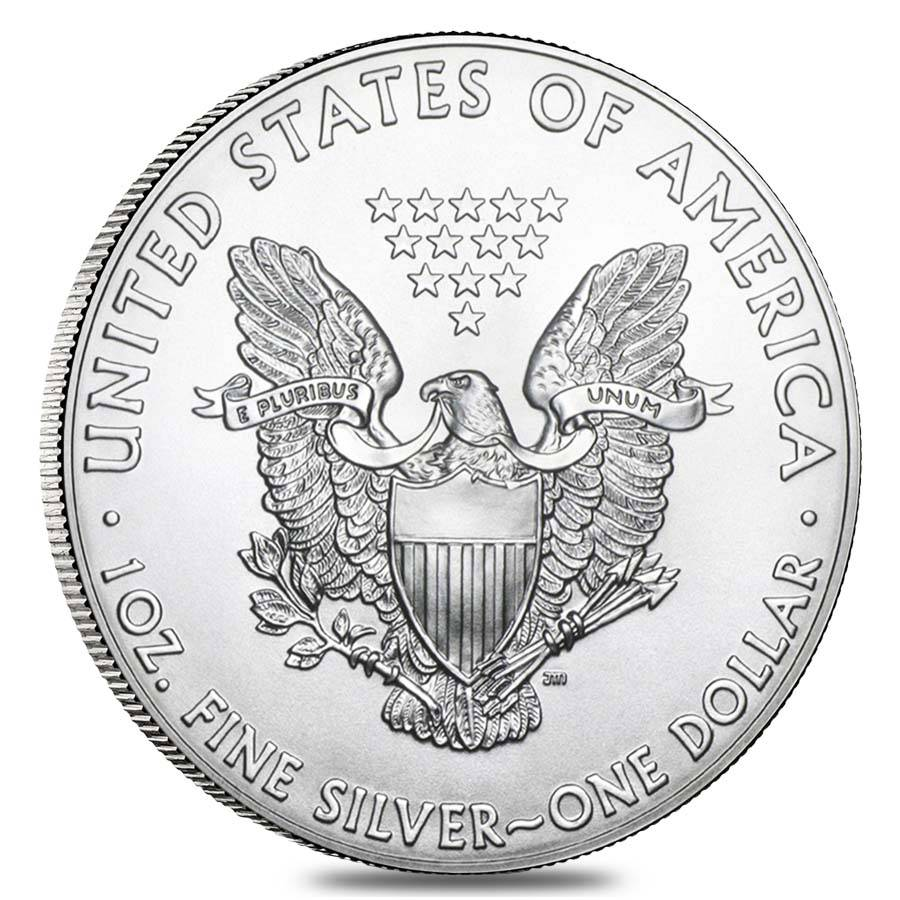 2015 1 Oz American Eagle 1 Silver Coin Bu Bullion Exchanges