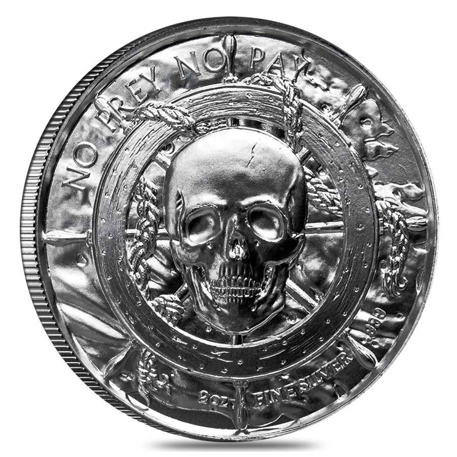 2 Oz Privateer Series The Captain Ultra High Relief
