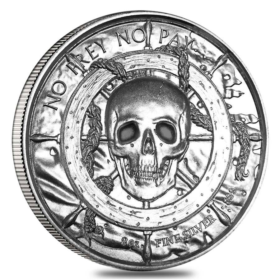 2 Oz Privateer Series The Kraken Ultra High Relief
