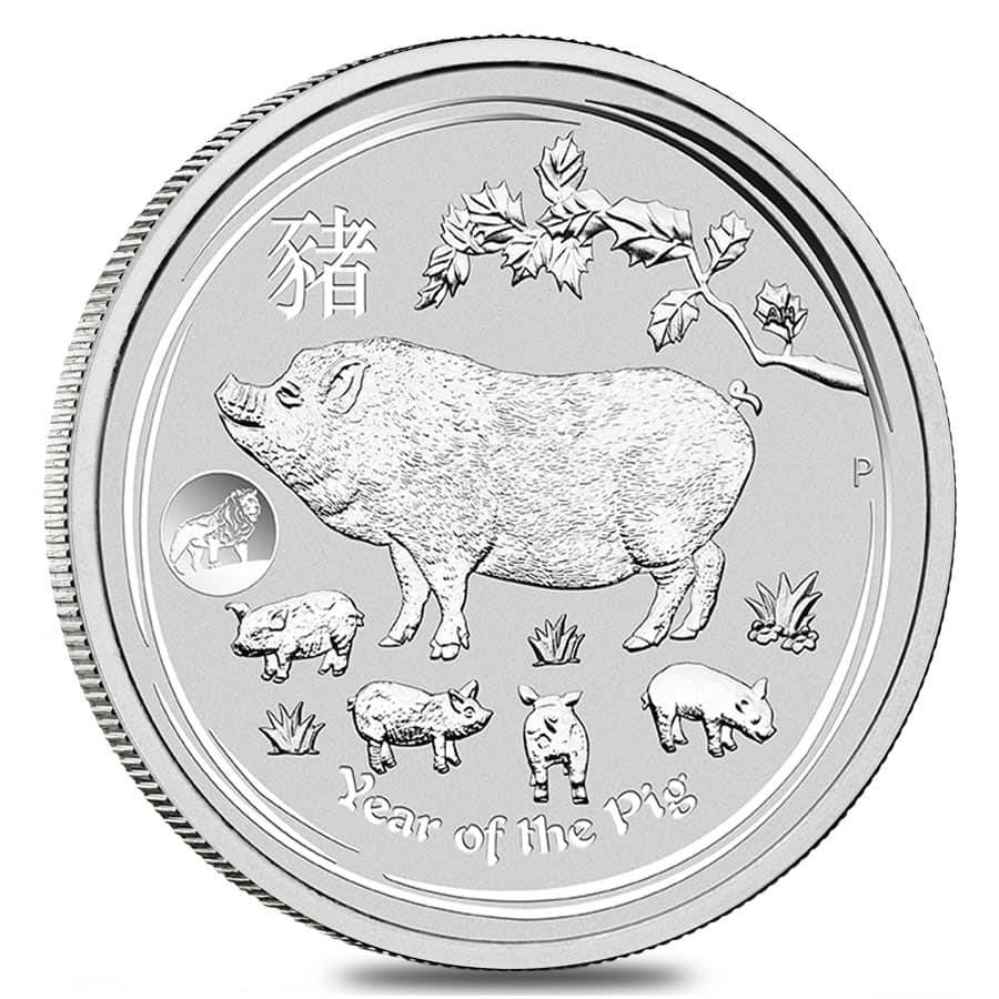 2019 P AUSTRALIAN 1 oz SILVER KOALA $1 IN CAPSULE PERTH MINT .9999 BU  Free Ship