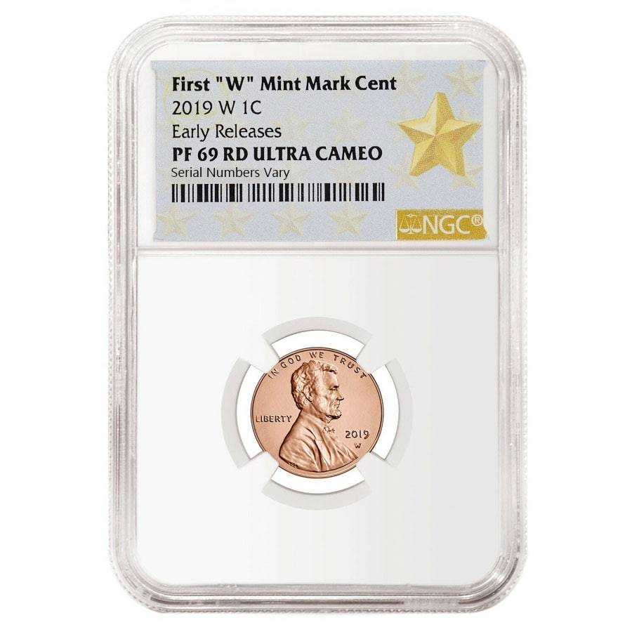 LINCOLN CENT PORTRAIT LABEL 2019-W NGC PF 69 RD ULTRA CAMEO FIRST RELEASES