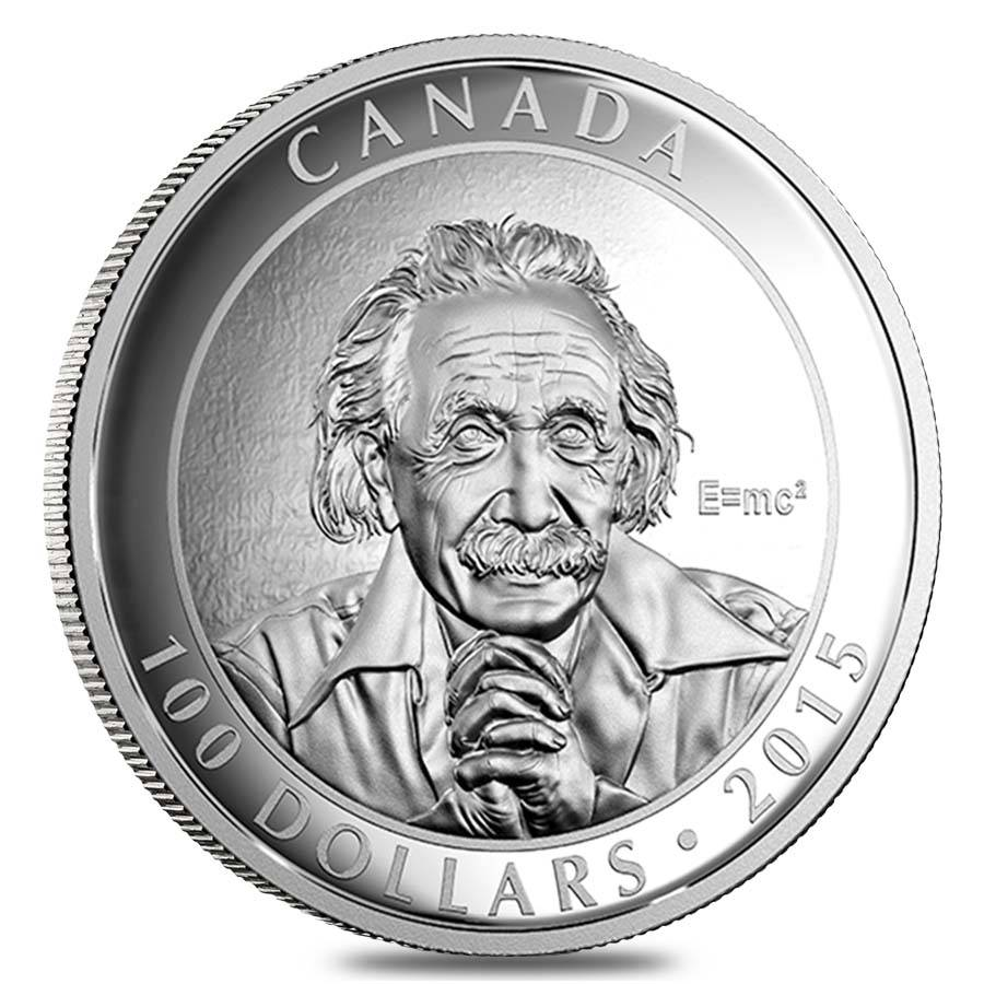 2015 Albert Einstein Silver Coin Ngc Pf69 Bullion Exchanges