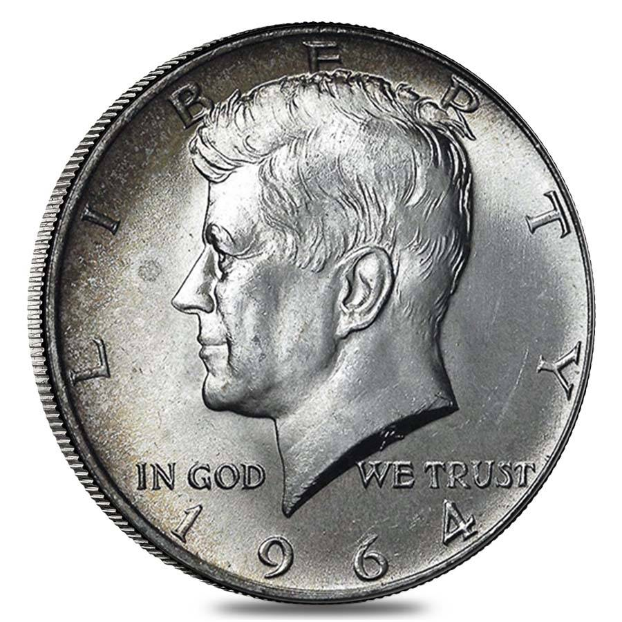 100 Fv 40 Silver Kennedy Half Dollars Bullion Exchanges