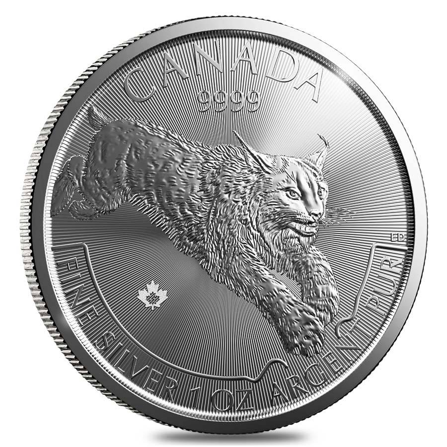 2017 1 Oz Silver Lynx Predator Series Coin Bullion Exchanges