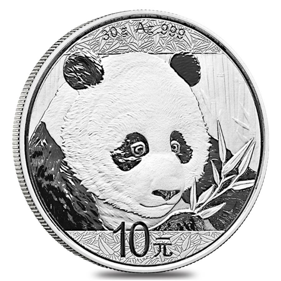 2018 30 Gram Chinese Silver Panda Bu Bullion Exchanges