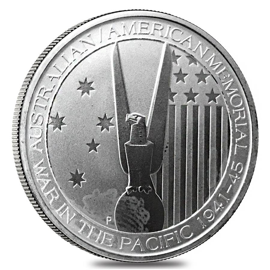 2013 Australia 1 2 Oz Silver War In The Pacific Coin Cull