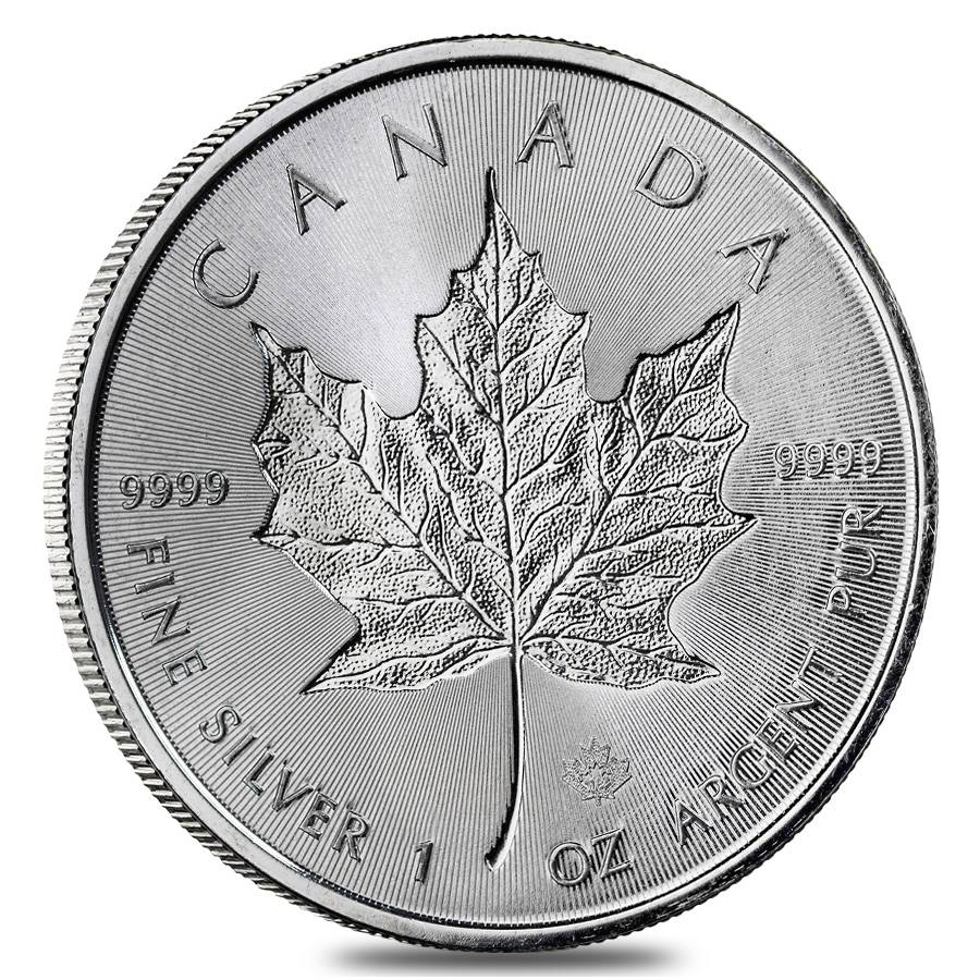 2018 Silver 1 oz Canada Maple Leaf