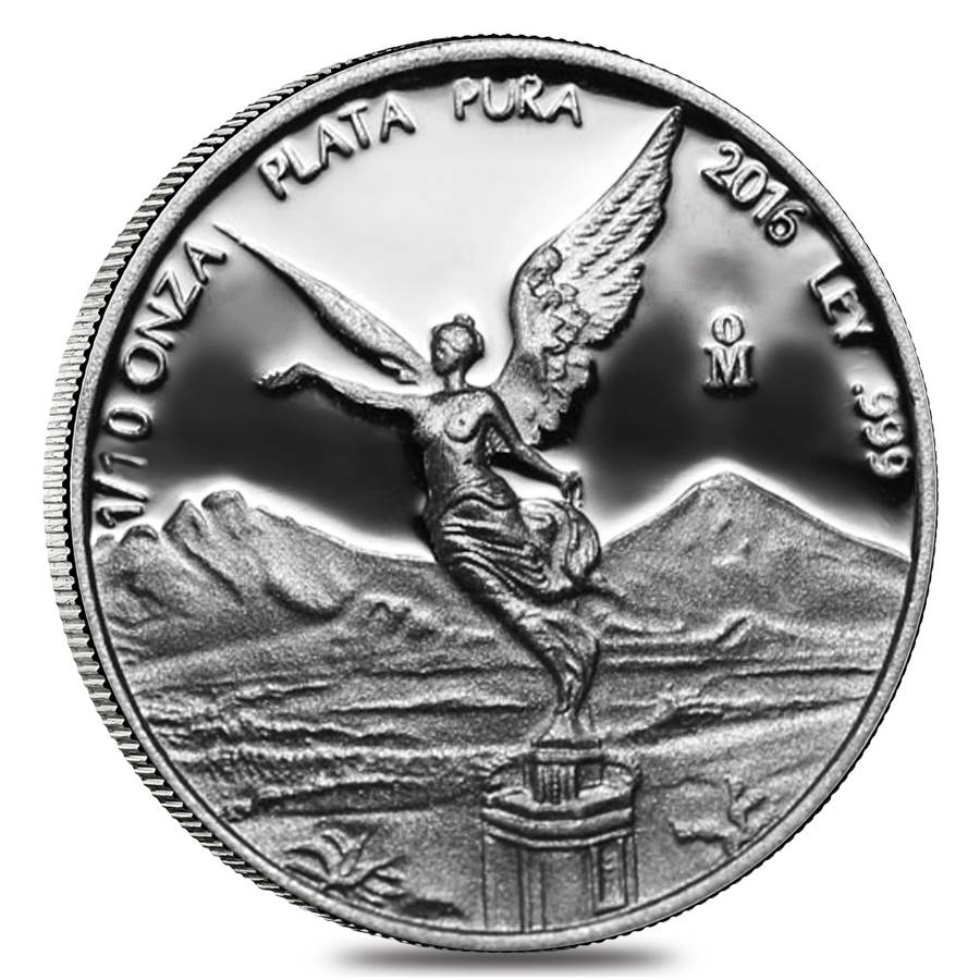 2016 Proof 1 10 Oz Mexican Silver Libertad Bullion Exchanges