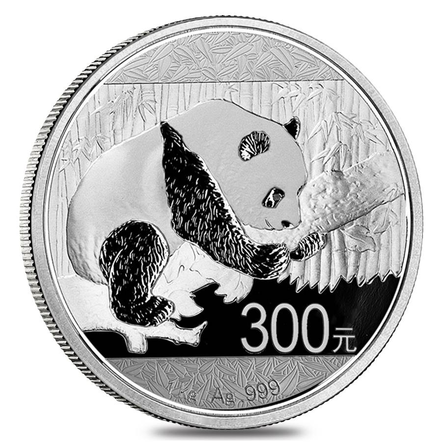 2016 1 Kilo Silver Chinese Panda Coin Bullion Exchanges