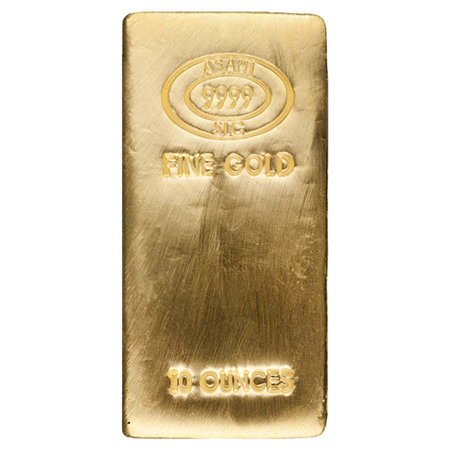 10 Oz Asahi Gold Bar New