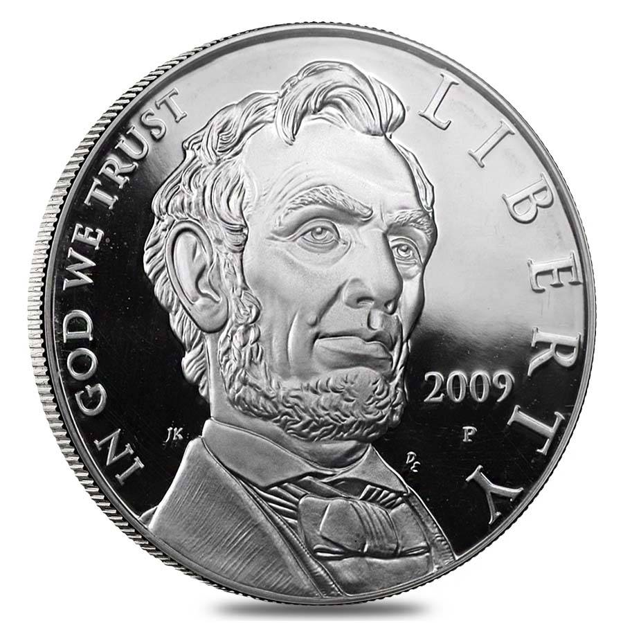 2009 P Abraham Lincoln Proof Silver Dollar Bullion Exchanges