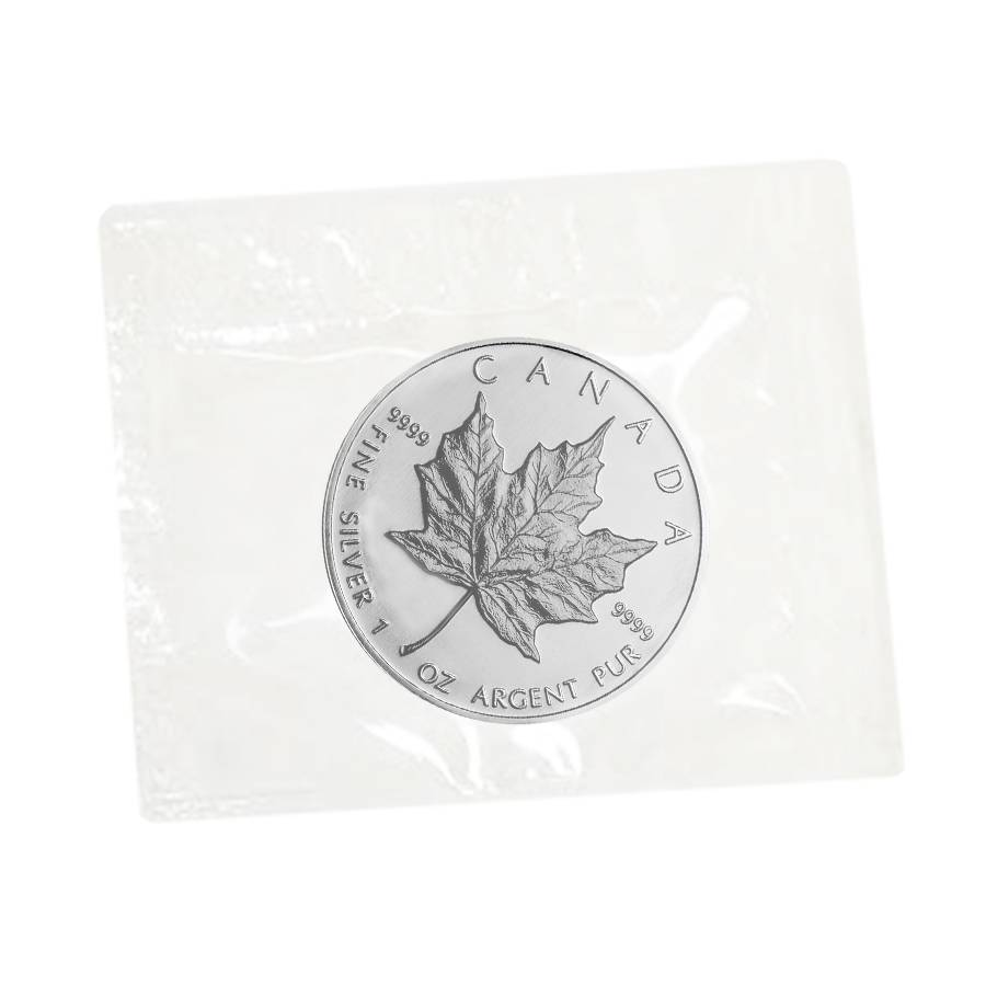 1991 Canadian Silver Maple 1oz Mint Sealed