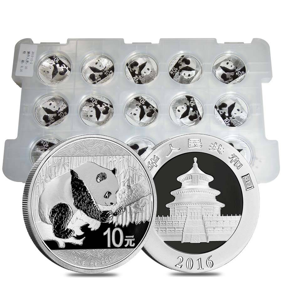 2016 30 Gram Chinese Silver Panda Bu Bullion Exchanges