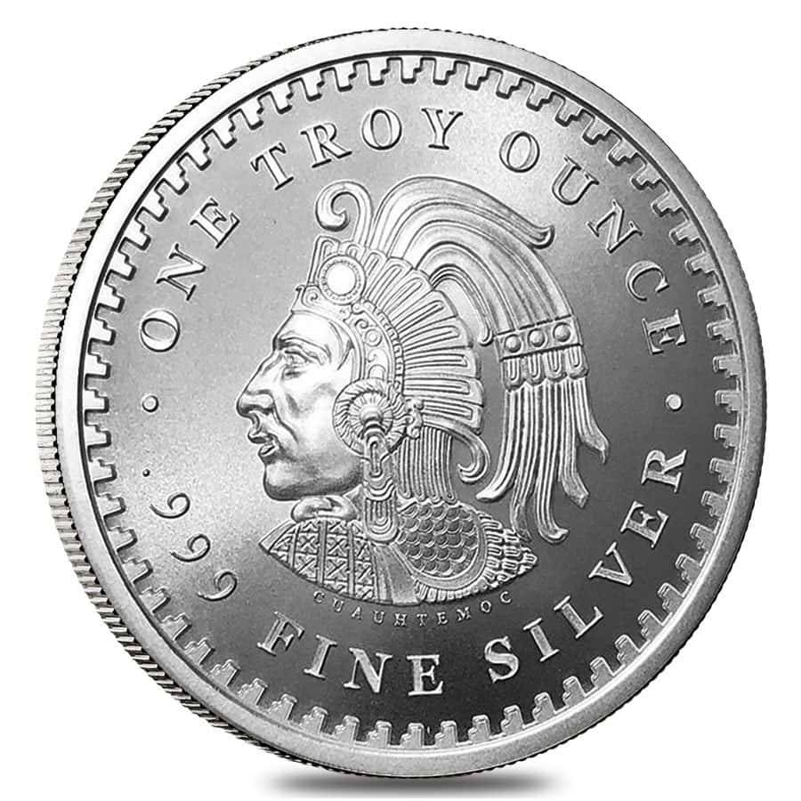 1 Oz Silver Aztec Calendar Round Bullion Exchanges