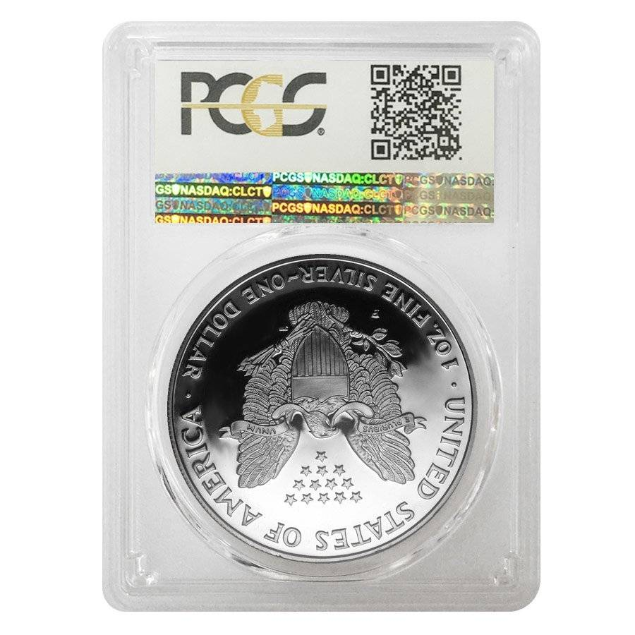 1994 P 1 Oz Proof Silver Eagle Pcgs Pf 70 Bullion Exchanges