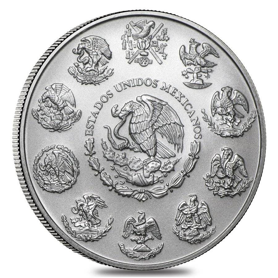 2018 1 Oz Mexican Silver Libertad Bullion Exchanges