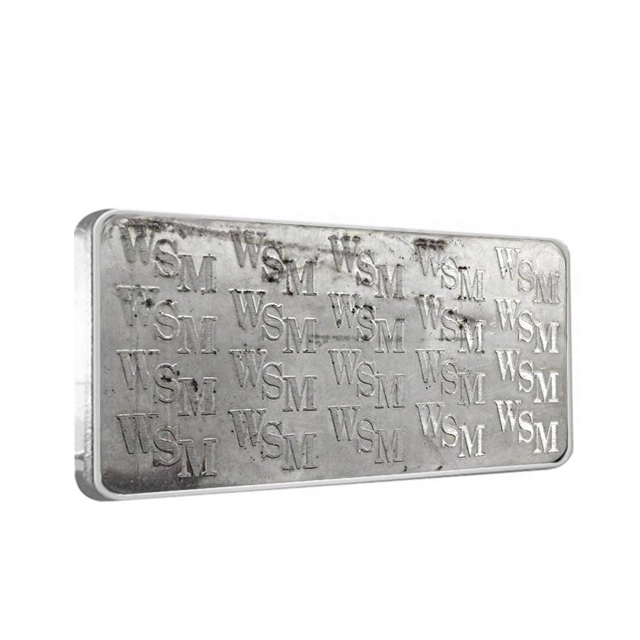 10 Oz Silver Bars Wall Street Mint Bullion Exchanges
