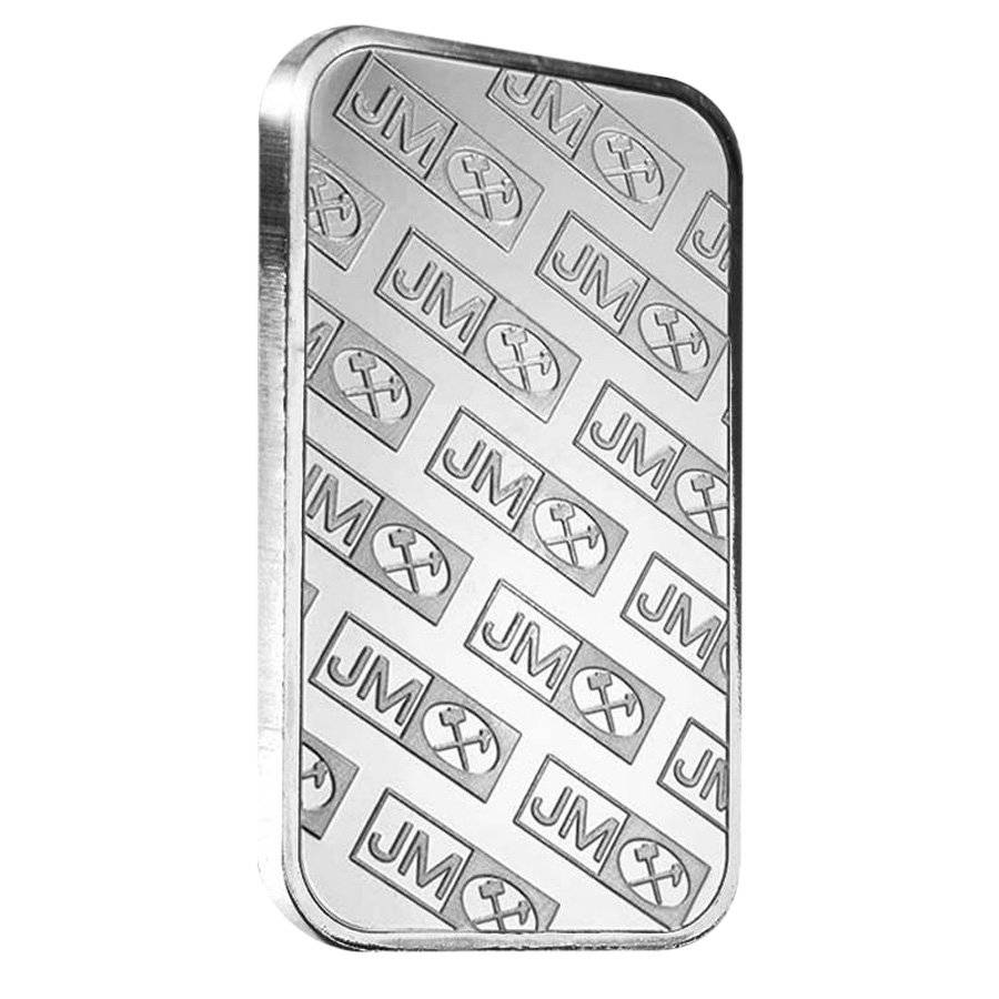 1 Oz Johnson Matthey Jm Silver Bar 999 Bullion Exchanges