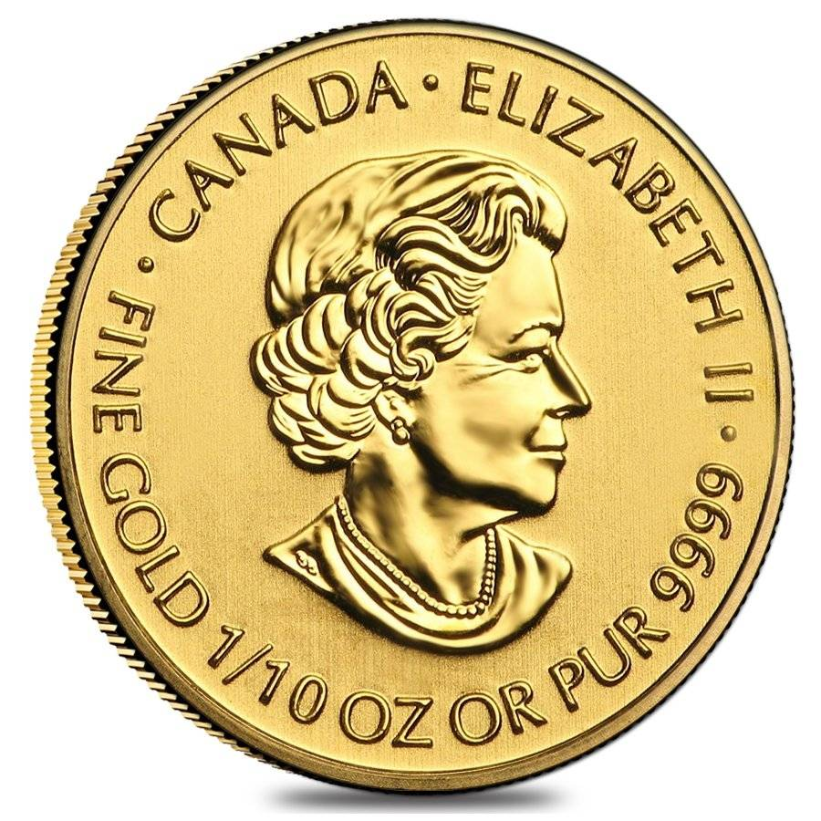 2016-1//10oz Gold Canadian Special Service Force Coin .9999 Fine BU