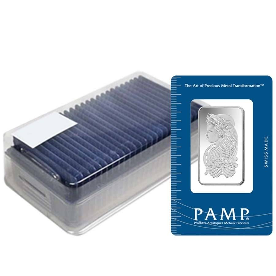 1 2 Oz Pamp Suisse Fortuna Silver Bar In Assay