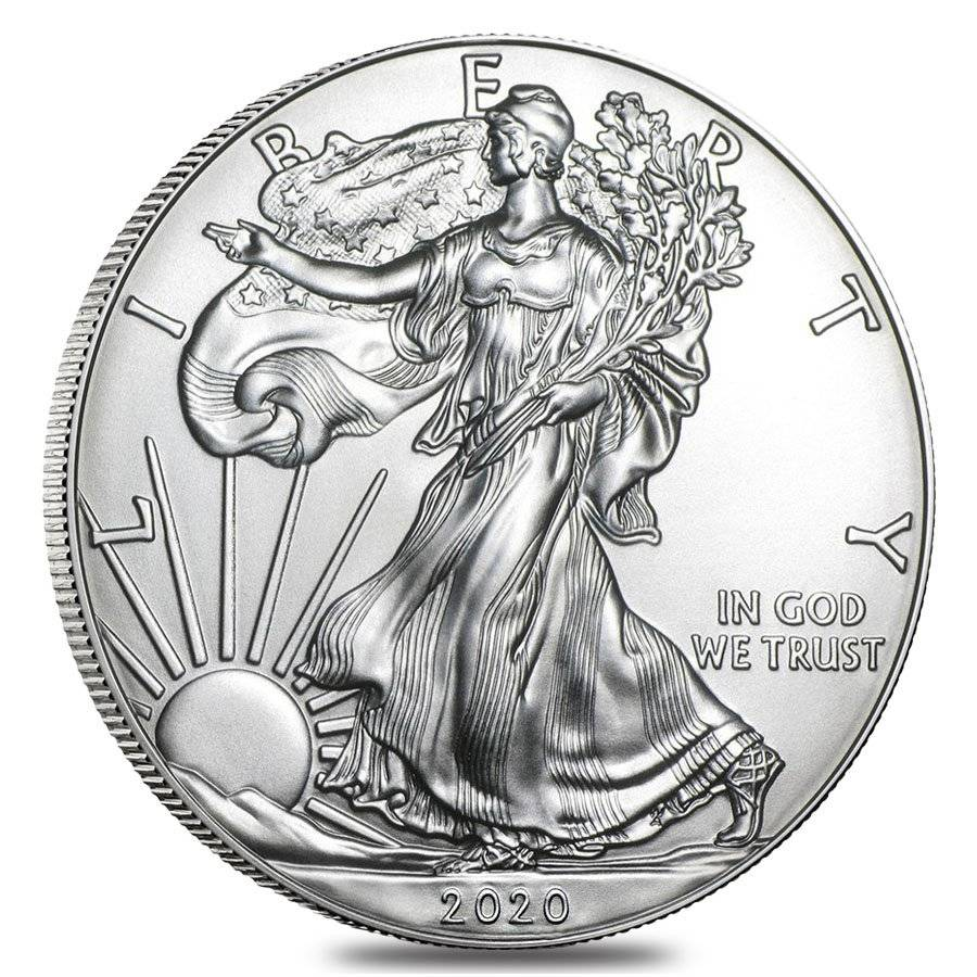 Monster Box 2020 1 Oz Silver American