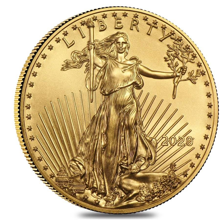 American Eagle $25 Gold ~15 Direct Fit 27mm Coin Capsule For US 1//2 oz