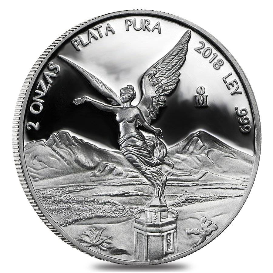 2018 2 Oz Silver Libertad Coin Proof Bullion Exchanges