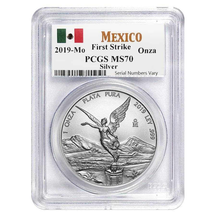 2019 MEXICO SILVER LIBERTAD 1//2 ONZA NGC MS 70 PERFECTION EARLY RELEASES !!!