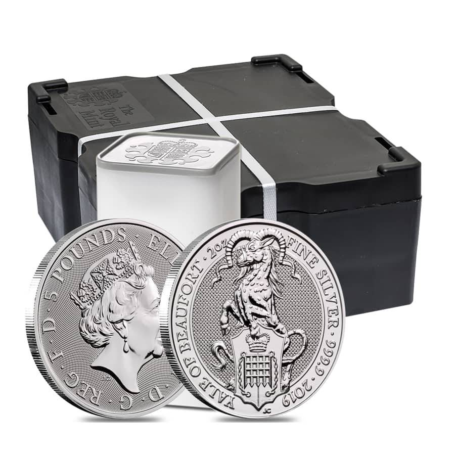Queen/'s Beast LION OF ENGLAND coin .9999 ultra-fine silver 2016 GB 2 oz
