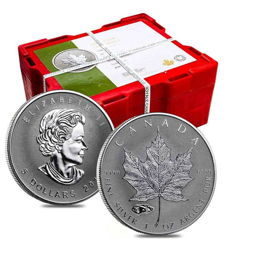 CANADIAN MAPLE LEAF TANK PRIVY LIMITED MINTAGE!! 2016  SILVER 1 oz