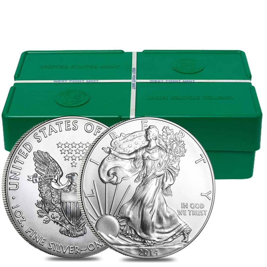 Monster Box 2014 1 Oz Silver Eagle Bu Bullion Exchanges
