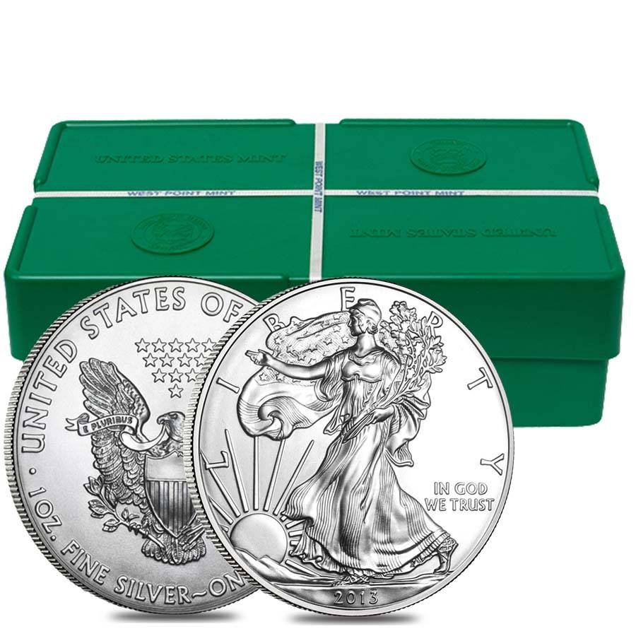 Monster Box 2013 1 Oz Silver American Eagle Bullion